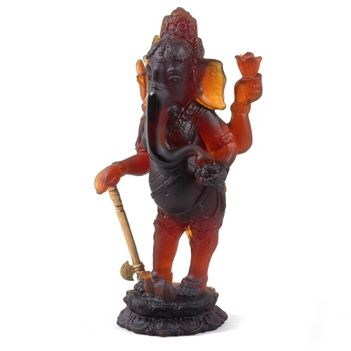 Daum Crystal Ganesh Standing, Limited Edition