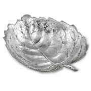 Buccellati Hazelnut Sterling Silver Leaf Dishes