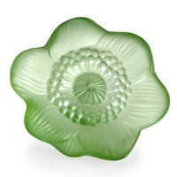 Lalique Anemone Flower, Green
