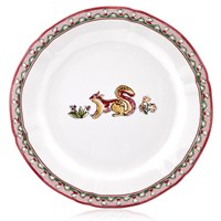 Gien Jardin Imaginaire Dessert Plate, Yellow Animal