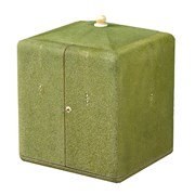 Vanity Jewelry Box, Olive Shagreen