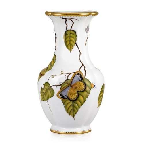 Anna Weatherley Studio Exotic Butterfly Vase