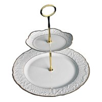 Anna Weatherley Simply Anna Antique Polka Tiered Cake Stand