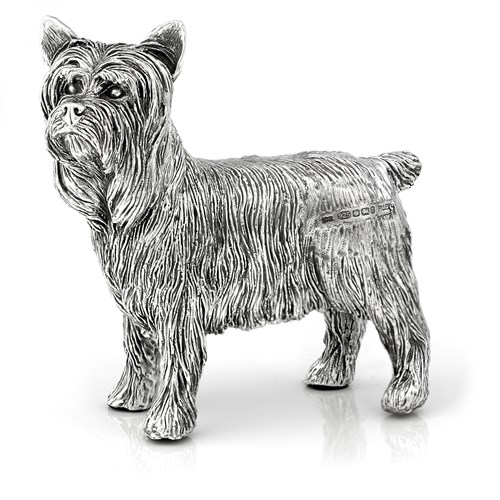 Sterling Silver Yorkshire Terrier