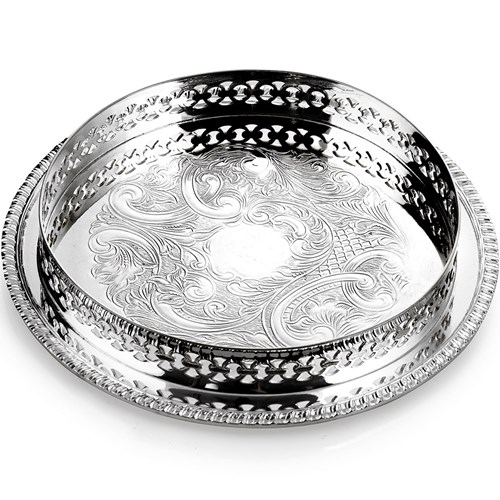 Silverplated Wine Coaster