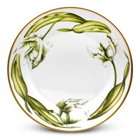 Anna Weatherley White Tulips Dinner Plate