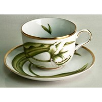 Anna Weatherley White Tulips Tea Cup