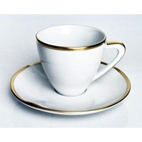 Anna Weatherley Simply Elegant Gold Espresso Cup & Saucer