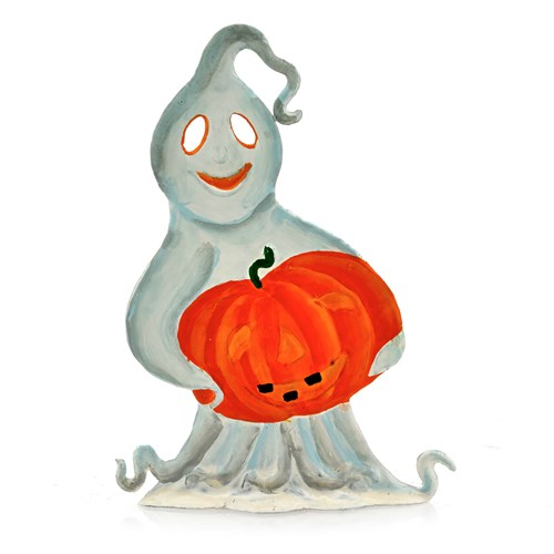 Pewter Halloween Ghost