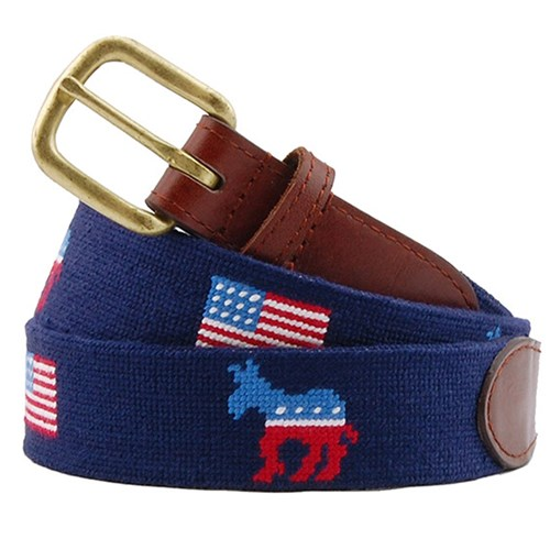 Democrat Petitpoint Belt
