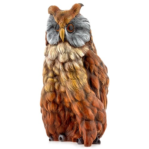 Austrian Bronze Big Owl Figurine