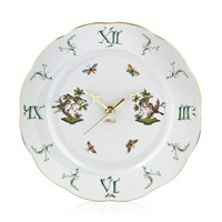 Herend Rothschild Bird Wall Clock