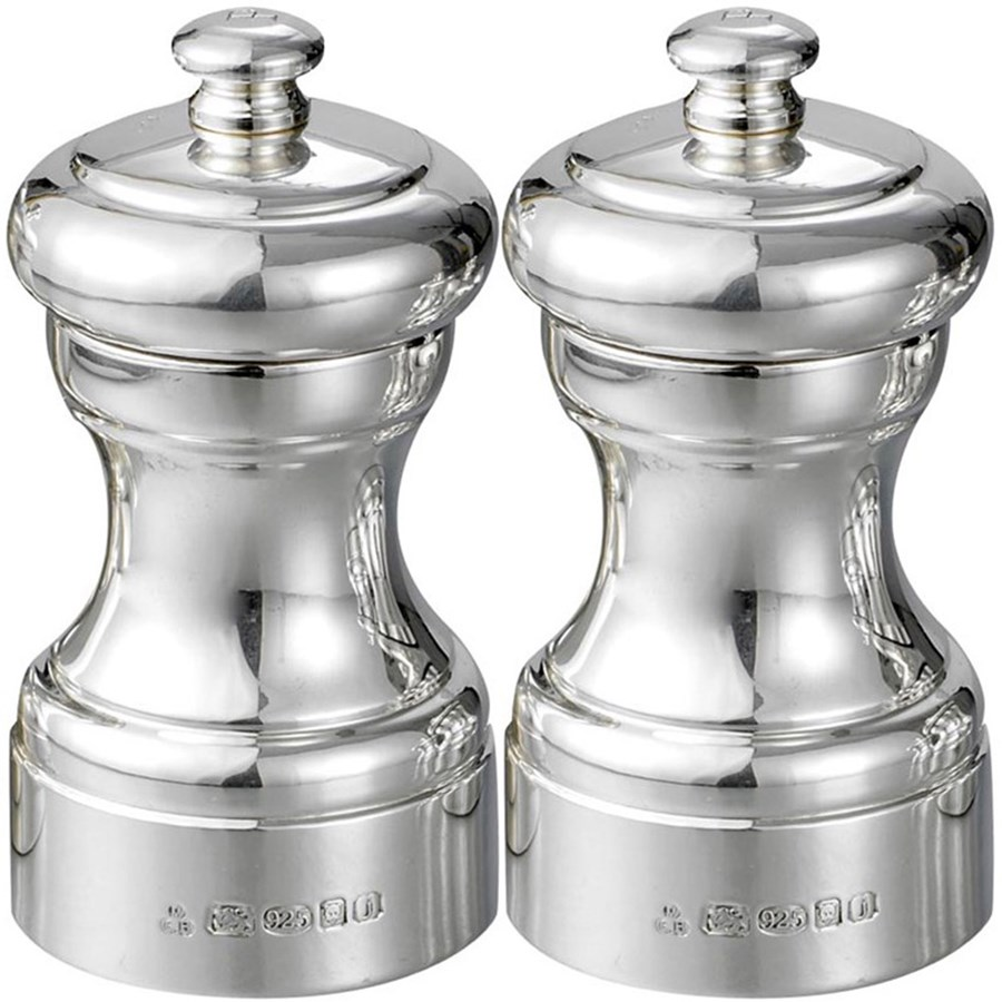 Sterling Silver Peugeot Salt Pepper Mills