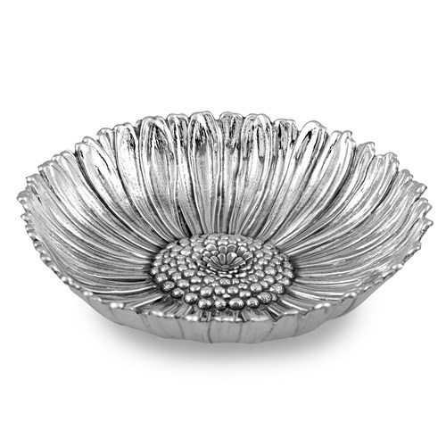 Buccellati Daisy Sterling Silver Flowers Dishes