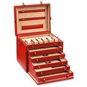 Medium Jewelry Cases with Six Drawers