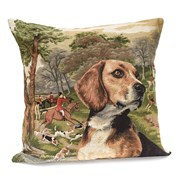 Hunting Dogs Tapestry Pillows