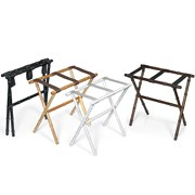 Bamboo Luggage Racks
