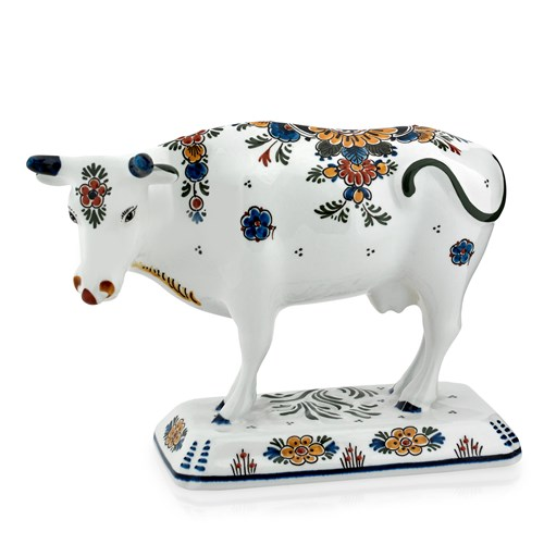 Royal Delft Polychrome Cow