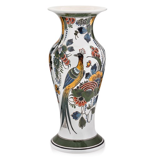 Royal Delft Polychrome Vase
