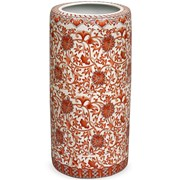 Coral Porcelain Umbrella Stand