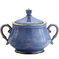 Ginori Oriente Italiano Pervinca Covered Sugar Bowl