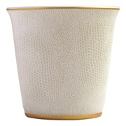 Bernardaud Sauvage Gold Tumbler with Scented Candle
