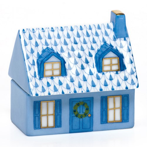 Herend Home Sweet Home, Blue