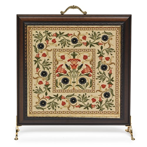 Primrose Cream Tapestry Firescreen