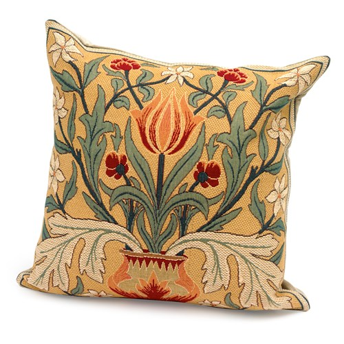 Morris Tulip Tapestry Pillow