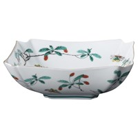 Mottahedeh Famille Verte Low Square Bowl