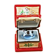 Christmas Toy Chest Limoges Box