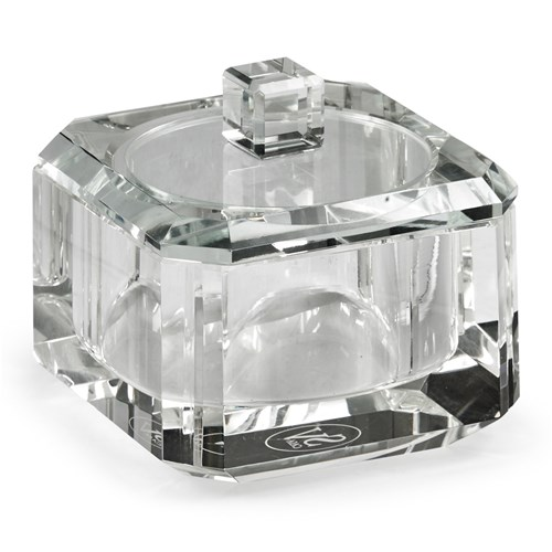 Clear Glass Box with Cover