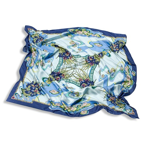 Freywille Claude Monet Large Silk Scarf