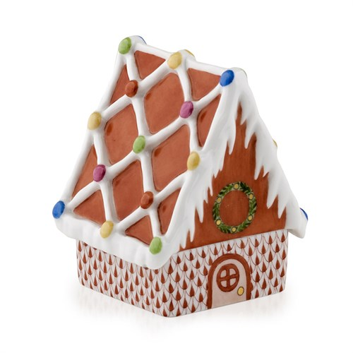 Herend Gingerbread House, Rust
