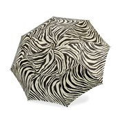 Sterling Silver Handled Zebra Umbrella