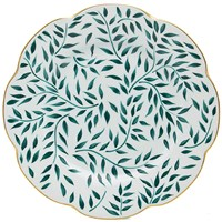 Royal Limoges Nymphea Olivier Green Dinner Plate