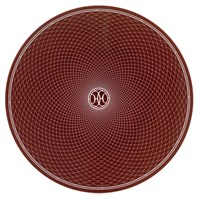 Hermes H Deco Rouge Charger / Presentation Plate