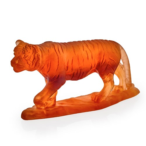 Daum Crystal Horoscope Tiger