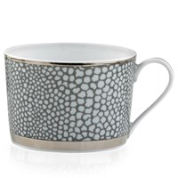 Royal Limoges Makassar Platinum Coffee Cup
