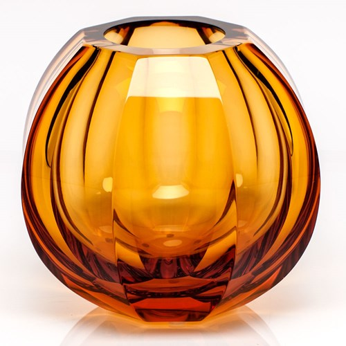 Moser Beauty Vase, Topaz