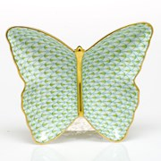 Herend Butterfly Dish