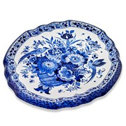 Royal Delft Blue Handpainted Plate