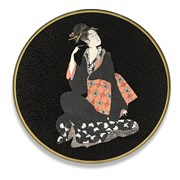 Japanese Round Glass Placemats