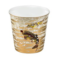 Bernardaud Eaux d'Or Tumbler with Scented Candle