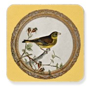 Yellow Songbird Table Mats & Coasters