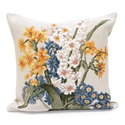 Primroses and Narcissus Tapestry Pillow