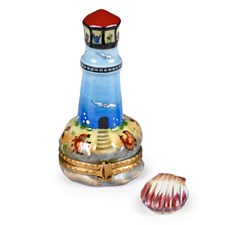 Lighthouse with Clam Limoges Box