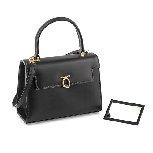 Launer Judi Handbag, Black