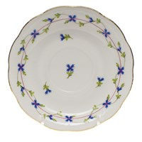 Herend Blue Garland Tea Saucer