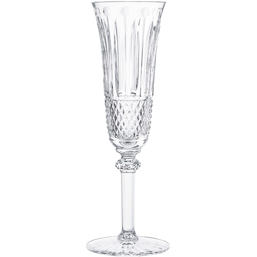 St. Louis Tommy Champagne Flute, Clear